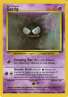 x1  *Base Set* Gastly - 50/102 - Common - Unlimited Edition Moderate Play Pokemo
