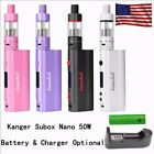 Promotion Kangertech Kanger Nano Subox MINI Starter Kit 50W VW(Battery Optional)