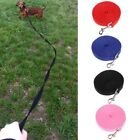 Nylon Pet Puppy Dog Lead Leash Long Line Walking Training Rope Strap 1.5-15Meter