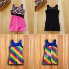toddlers dance clothes - Toddler Girls Gymnastic Leotard Dress Ballet Tutu Skirt Dance Skate wear Costume