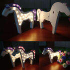 Unicorn 3D LED Table Lamp Night Light Baby Kids Bedroom Home Party Gifts Decor
