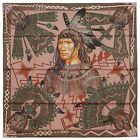 NEW Authentic Hermes Silk Scarf COSMOGONIE APACHE Turquoise Pink