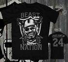 OAKLAND RAIDERS BEAST x NATION JERSEY STYLE T Shirt  LYNCH