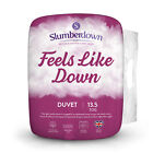 Slumberdown Feels Like Down 13.5 Tog Winter Warm Non-Allergenic Duvet