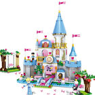 Beaty and the Beast, Cinderella, Frozen, or Little Mermaid Building Blocks