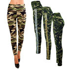 Damen Thermo Winter Leggings Fell Army Military Hose Tarn Camouflage 36-42