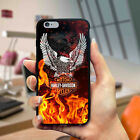 Harleyy Davidson23 Red Fire iPhone Case 6 6s 7 7 plus