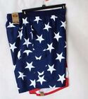 FOUNDRY Mens Red White Blue American Flag Surf Cargo Swim Trunk Big and Tall NEW