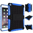 Color mix hard soft rubber Skin Shell case for Apple iPad Mini 4 a