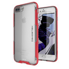 For iPhone 8 Plus / 7 Plus | Ghostek CLOAK Shockproof Clear TPU Cover Case <br/> 6 Colors | Supports Wireless Charging &amp; Touch ID Unlock