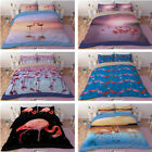 Flamingo Pink Single/Queen/King Size Quilt/Doona/Duvet Cover Sets Pillowcasess