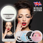 Selfie Light 36 LED Ring Flash Light Clip Camera For iPhone Samsung Htc etc