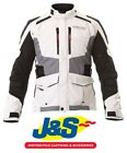 Alpinestars Andes V2 Drystar Motorcycle Jacket Light Grey Waterproof J&S