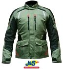 Alpinestars Andes V2 Drystar Motorcycle Jacket Military Green Waterproof J&S