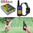 Waterproof Pet Dog Training Collar Rechargeable Electric Shock Kit (One Collar)