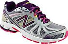New Balance Women's KJ880SPY Running Athletic Track Shoes White Grey Purple Pink