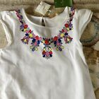 Kid's Girl's   Kate Spade Neclace Dress  Size 10 - Cream NWT $78+taxes