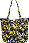 Abbergale Large Tote Shopping Shoulder Bag Handbag Colorful Cotton Quilted
