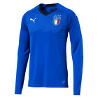 Puma Italy Italia FIFA WC World Cup 2018 LS Home Soccer Jersey Royal Blue