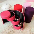 Jewelry Box Storage Organizer Case Ring Earring Necklace Christmas Gift LJ