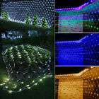 Led Net Fairy Ceiling Lights Xmas Wedding Curtain Wall Party Outdoor Garden