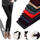 Womens Warm Winter Thick Skinny Slim Footless Leggings Stretch Pants New Us