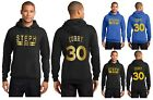 New Steph Curry Hoodie Hooded Sweatshirt Jersey Stephen Golden State Warriors