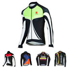 NEW Men Biker Cycling Clothing Bicycle Jersey Sports Long Sleeve Tops Breathable