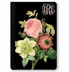 personalized leather ipad mini case - Monogrammed iPad Case for iPad Mini, iPad Air, Pro Personalized Roses Black