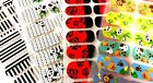 20 Fashion Nail Polish Strips PRINTS/PATTERNS Designs Double Ended Sticker SALE!