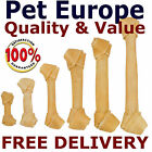 """Rawhide Dog Chews Bones Treats Knots Knotted Best Qualilty Hide 4.5"""" To 15"""""""