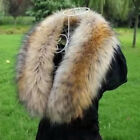 Fashion Ladies Women' Faux Fur Collar Scarf Winter Shawl Wrap Stole Scarfs Brown