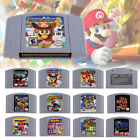 Various N64 Game Card Super Mario Party Zelda for Nintendo 64/Super NES Console