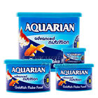 GENUINE AQUARIAN GOLDFISH FLAKE FOOD FISH TANK AQUARIUM FLAKES 13G 25G 50G 200G