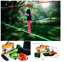 Slackline Kit with Training Line Tree Ratchet Protectors Arm Trainer Xmas Gift