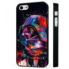 Darth Vader Colourful Star Wars BLACK PHONE CASE COVER fits iPHONE £4.95 GBP