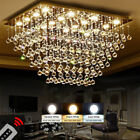 Modern Fashion Crystal chandeliers Two-tone Dimming Crystal Ceiling light  #6795