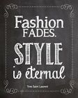 Fashion salon Quote home decor High Quality wall Art poster Choose Size