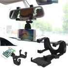 Universal Auto Car Rearview Mirror Mount Holder Phone Bracket for iPhone Samsung