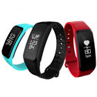 R1 Blood Pressure Heart Rate Sport Bluetooth Smart Wristband Bracelet For iPhone