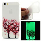 Luminous Glow In The Dark Fluorescence TPU Case Cover For iPhone 6 7 8 X Plus
