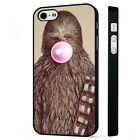 Star Wars Funny Chewbacca BLACK PHONE CASE COVER fits iPHONE £4.95 GBP