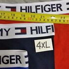 15 Mens TOMMY HILFIGER COTTON boxers Brief  Big and Tall 10XL PLUS