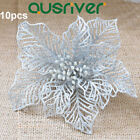 10x Christmas Artificial Flower Xmas Tree Ornament Party Wedding Home Decoration