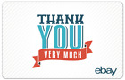 Thank You Very Much - eBay Digital Gift Card $25 to $200 - Email Delivery