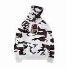 Supreme Box Logo Sweater Snow Hoody Camo Men's  Embroidery HOODIE Pullover US