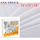 Waterproof Mattress Cover Protector King Queen Full Size Fitted Bed Sheet Pad