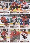 2017-18 Upper Deck Canadian Tire Team Canada Canvas TCC-1 to TCC- 55 SP U PICK!