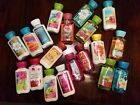 Bath and Body Works travel size Body Lotions and Shower Gels ~different scents