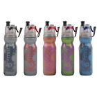 O2Cool Double Wall Insulated Mist 'N Sip Water Bottle 20 Ounces, Assorted Colors